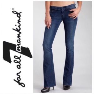 7 For All Mankind Rocker Bootcut Jeans 29